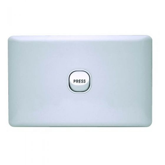 K Series 1 Gang Loaded Switch Plate - Press