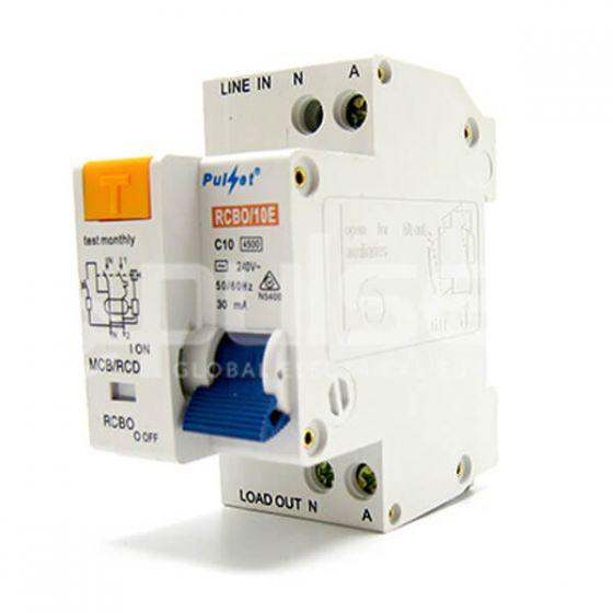 2 Pole MCB/RCD Electronic Combo (RCBO)
