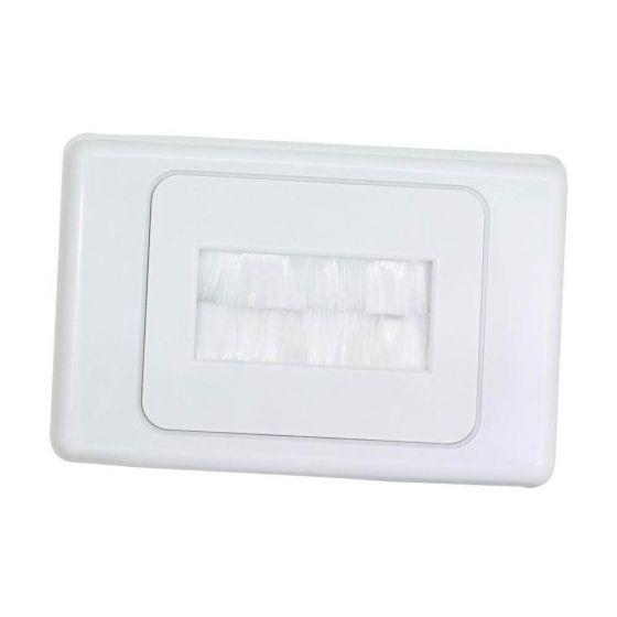 Wall Plate Premium Brush Entry