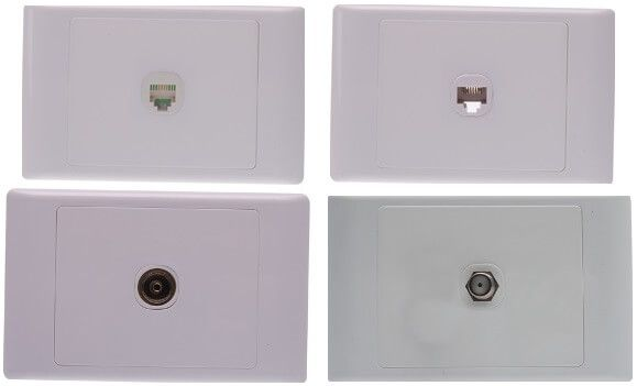 Signature Series Data Sockets