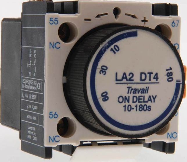 Pneumatic Time Relay for Compatible Contactors