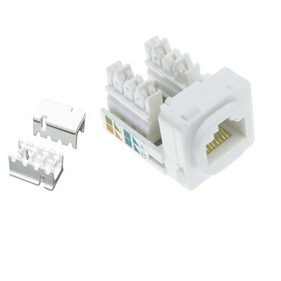 8 Pin RJ45 Female Socket
