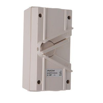 3 Pole 35Amp Weatherproof Isolator
