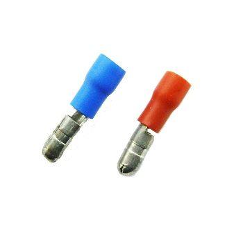 Fully Insulated Bullet Shape Male Splice