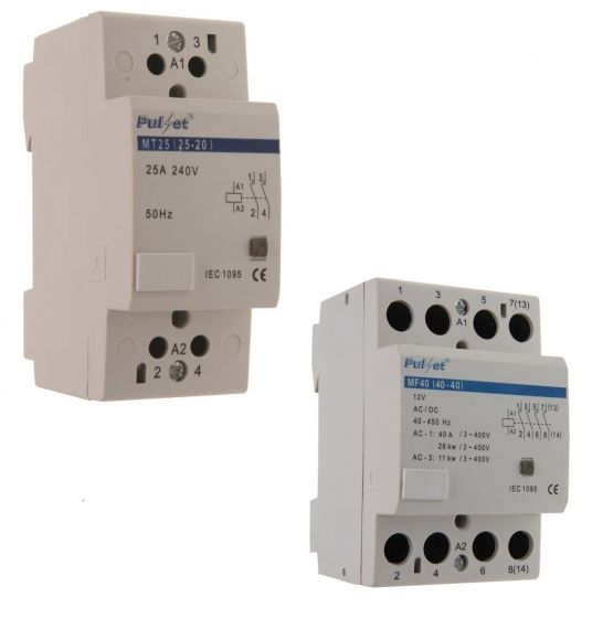 2 & 4 Pole Module Contactors | Module contactors supply | Electric supply