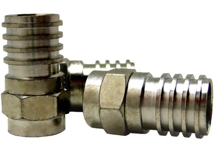 F-Type Connector | RG6CRIMPP | F-Type male crimp connector | Crimp connector | Australia | New Zealand | Fiji