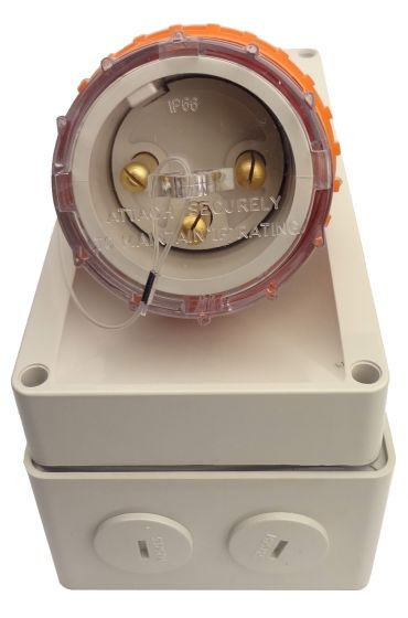 Single Phase 3 Pin Appliance Inlet