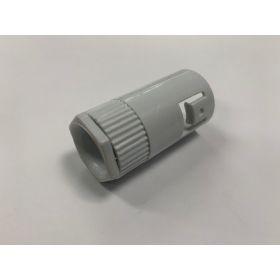 CORRUGATED PLASTIC BUSH+SCREW CONNEC