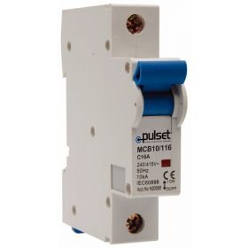 10KA 1 Pole Din Rail Mount MCB