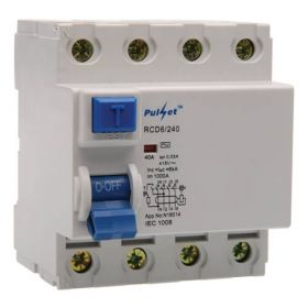 Buy 4 Pole RCD 30mA | Buy RCDs Best Rate | Quality RCDs